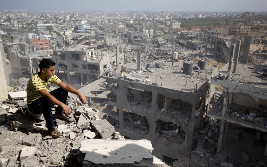 In Gaza Strip, deaths become part of daily life | The ...