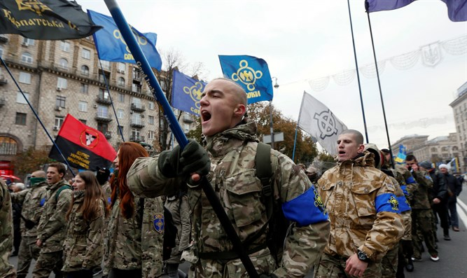 Nazi collaborator greeting becomes official Ukraine army ...