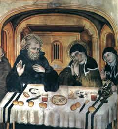 St. Scholastica and St. Benedict