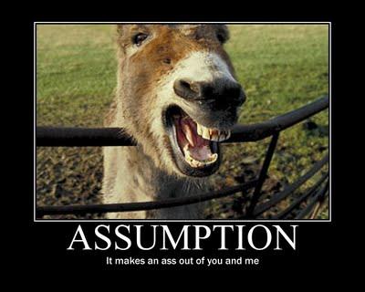 assume ass