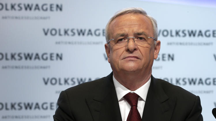 Volkswagen CEO Martin Winterkorn - VW said to push forward with main car-brand margin revival plan