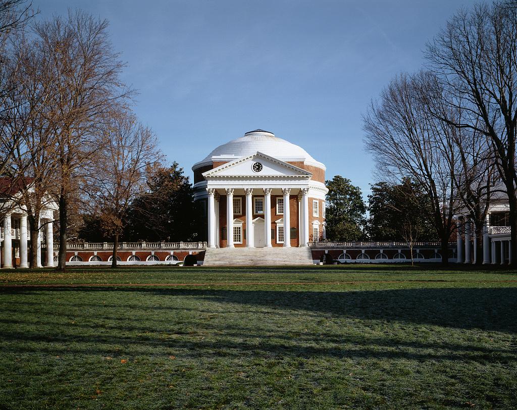 University of Virginia Rotunda, Charlottesville, Virginia