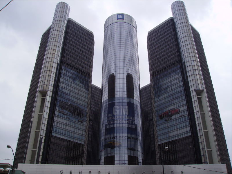 GM Headquarters - GM Global Sales Rose 0.5% in Quarter to Trail Volkswagen