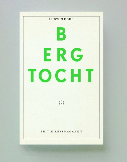 Ludwig Hohl, Bergtocht