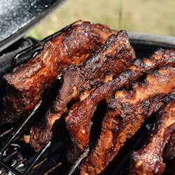 Dry Rubbed BBQ Ribs