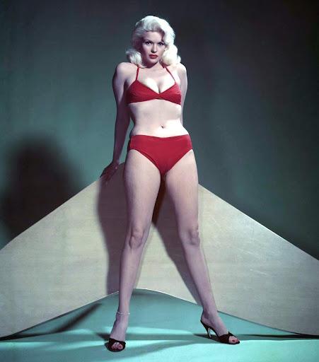 ... jayne mansfield bikini legs slip 1960 60 s jayne mansfield jayne
