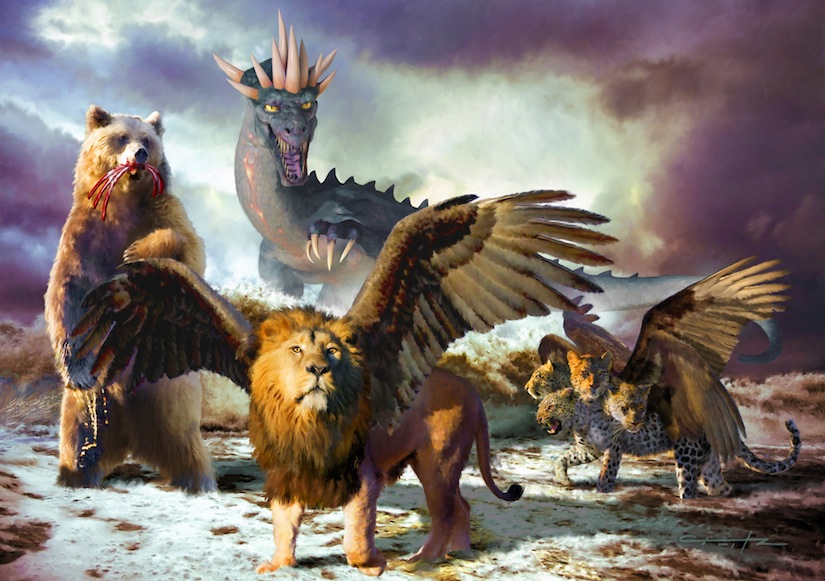 Daniel 7: Four Beasts and a Little Horn - Life, Hope & Truth