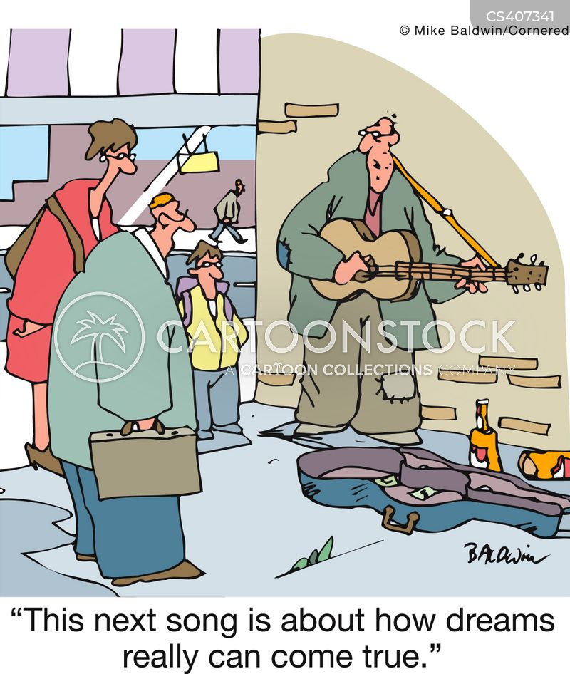 Busk Cartoons and Comics - funny pictures from CartoonStock