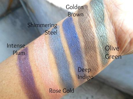 Oriflame The ONE Colour Impact Cream Eye Shadow : Swatches - Paperblog
