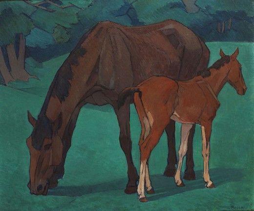 Robert Bevan's Mare and Foal