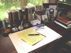 Pat Conroy's Desk | Books & Antiques | Pinterest