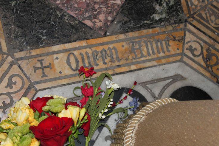 Anne Boleyn's grave marker