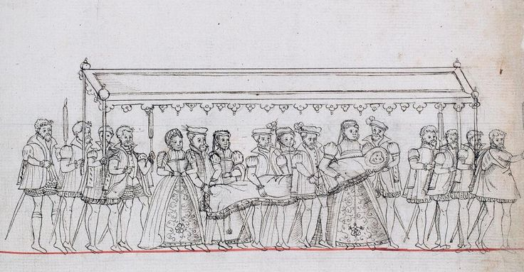 ... christening of Prince Edward, later Edward VI, at Hampton Court - 15