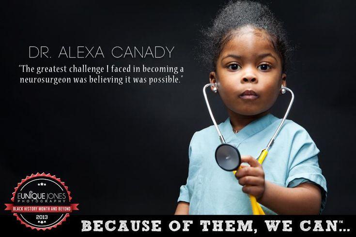 Dr. Alexa Canady
