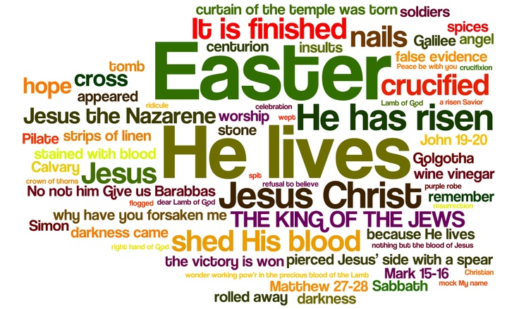 Because he lives, I can face tomorrow! | Easter | Pinterest