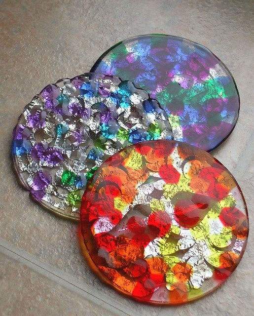 Melted bead suncatchers great summer project must try! :: ecrafty