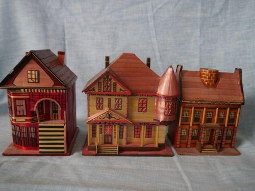 Mini Mini Christmas Village Houses   myideasbedroom.com