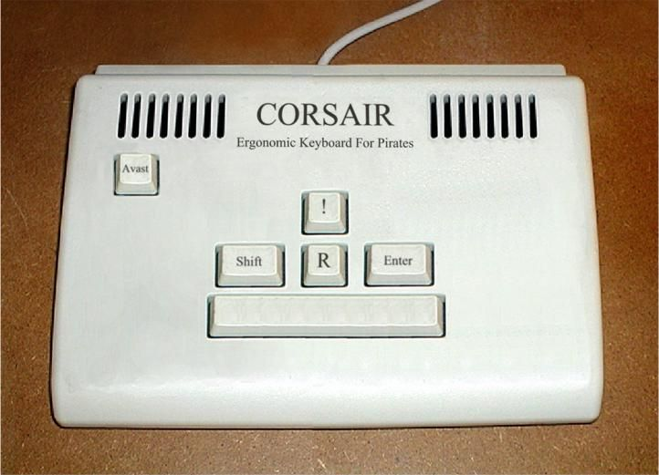 The Pirate Keyboard. | Funny Things | Pinterest