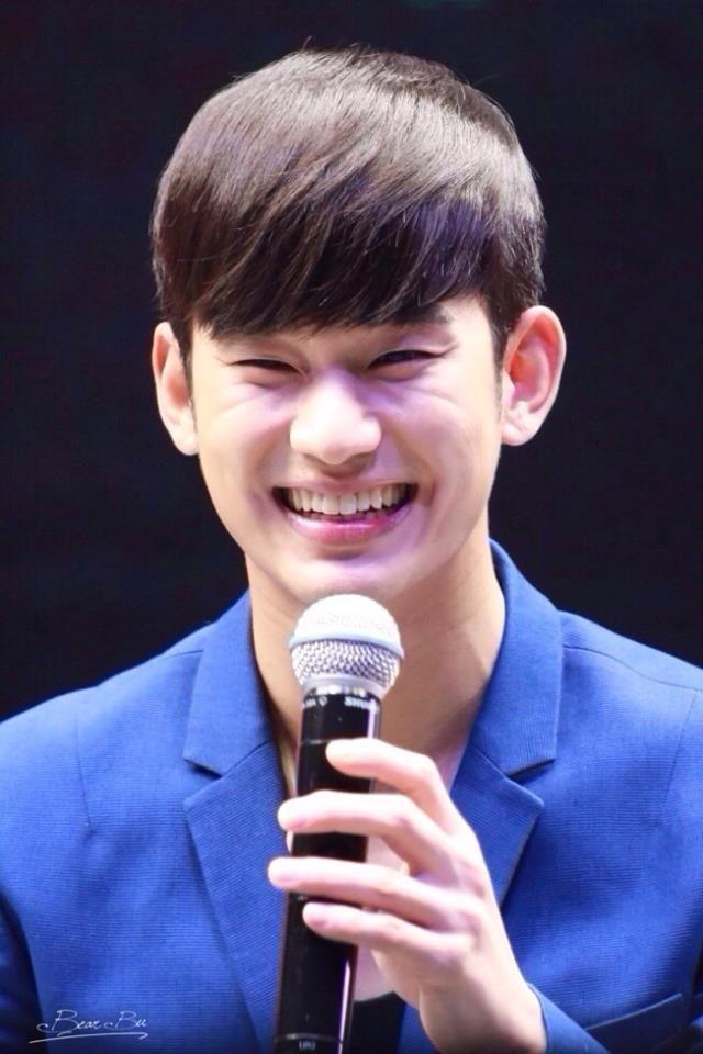 Kim Soo Hyun smile | MenLicious | Pinterest