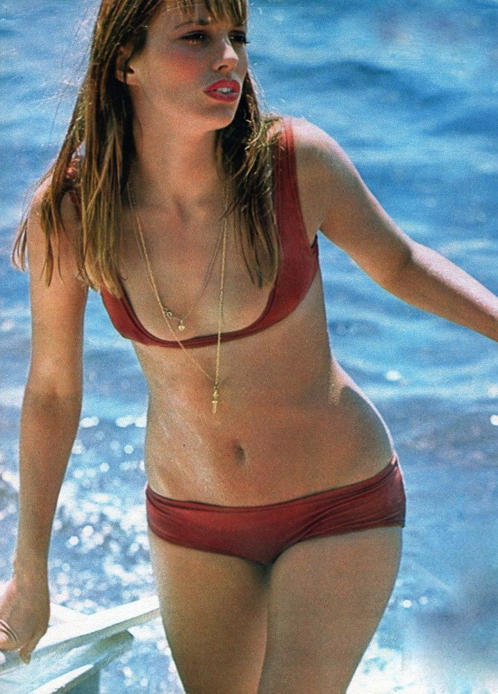 Jane Birkin appearing in Elle France during the height of her Jane ...