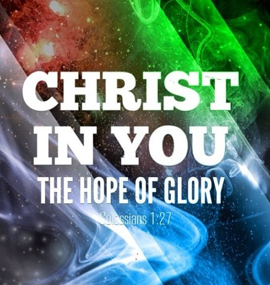 The hope of glory | Jesus my 1st love | Pinterest