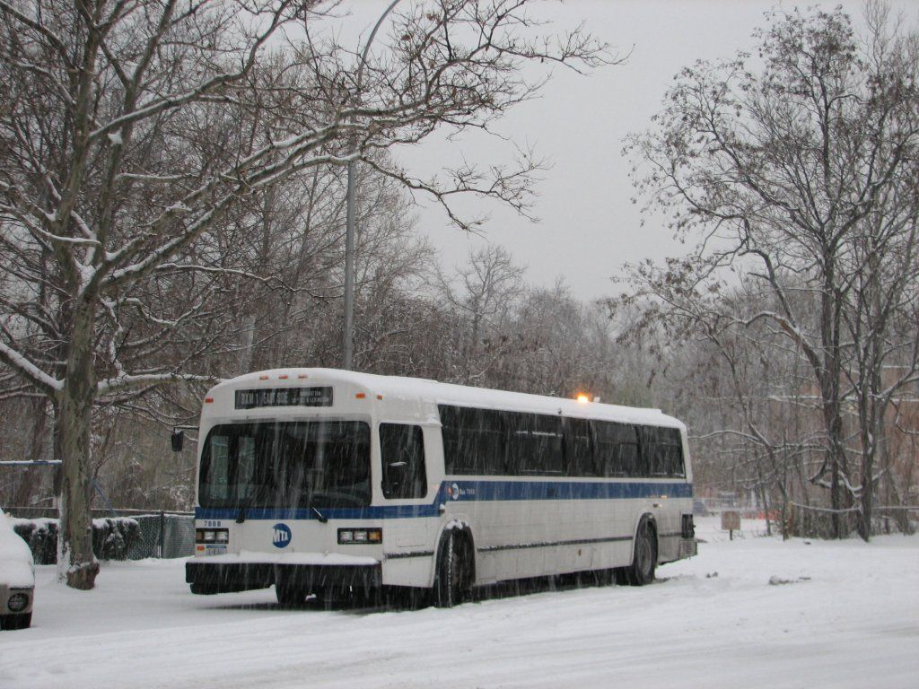 Bus in the snow | Boogie Down Bronx | Pinterest