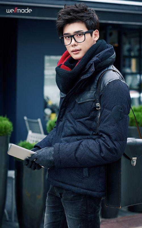 lee jong suk. asian men and their glasses