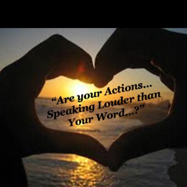 scripture actions speak louder than words MEMES