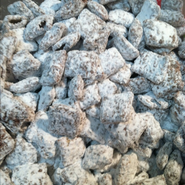 Puppy Chow! Easiest snack ever!!