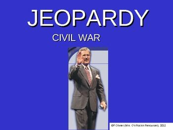 Free for a limited time! New item.... Civil War Jeopardy! There are ...