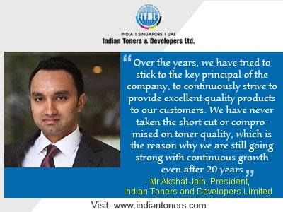 Indian Toners & Developers Ltd. | Indian Toners & Developers Limited ...