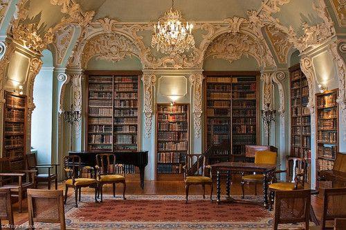 elegant library. | ...libraries... | Pinterest