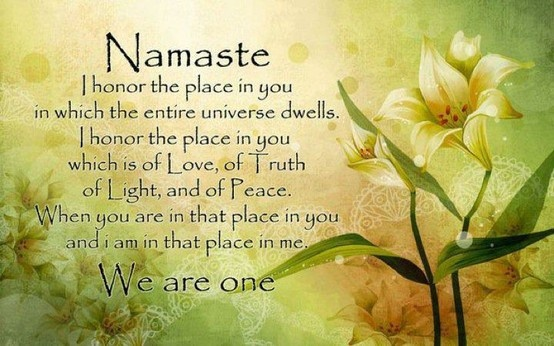 meaning of Namaste | Quotes | Pinterest