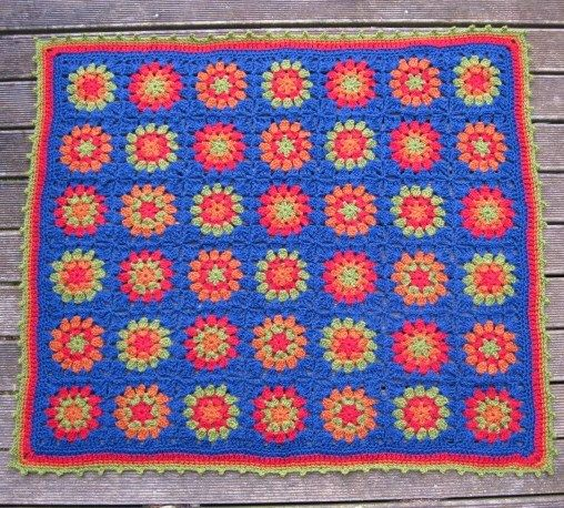 Baby blanket from Crochet with Raymond Blog