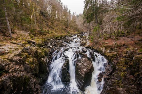 Hermitage waterfalls