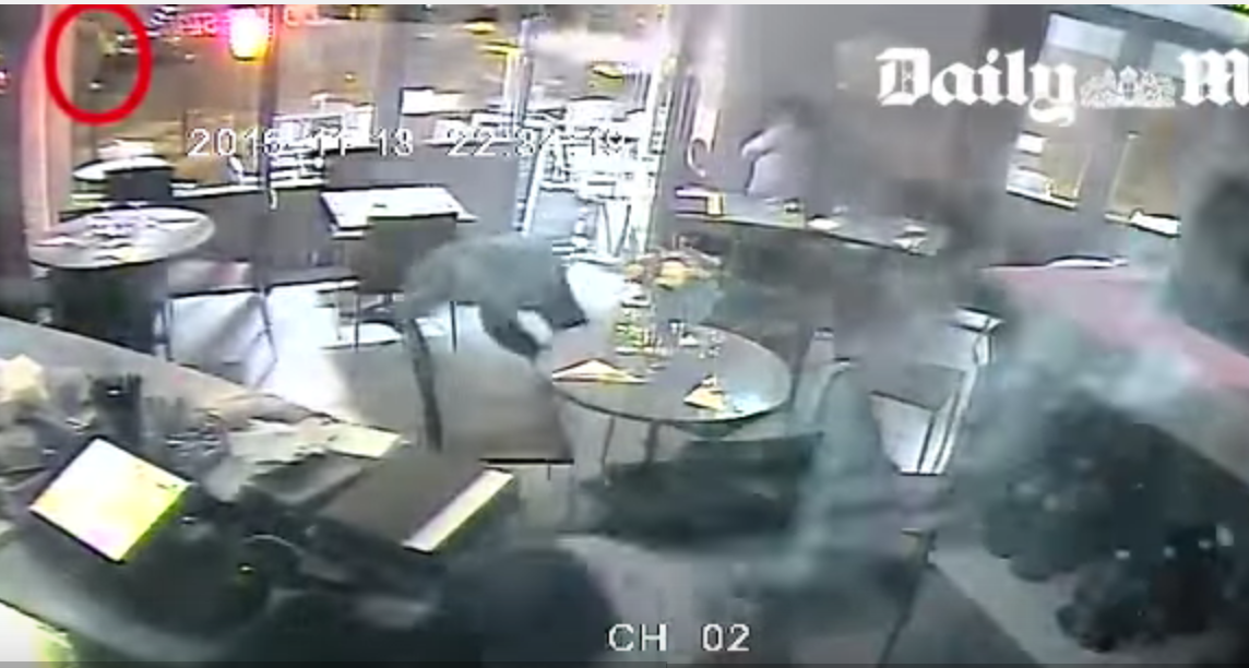 Footage of Paris cafe attack posted / Boing Boing