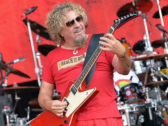 Sammy Hagar: 'Crazy' Opposition Won't Give Trump a Chance ...