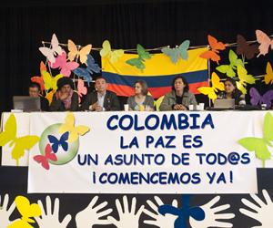 Inauguran encuentro internacional por la paz en Colombia ...