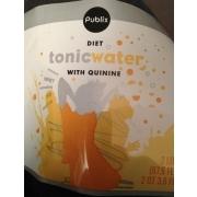 Publix Diet Toni Water With Quinine: Calories, Nutrition ...