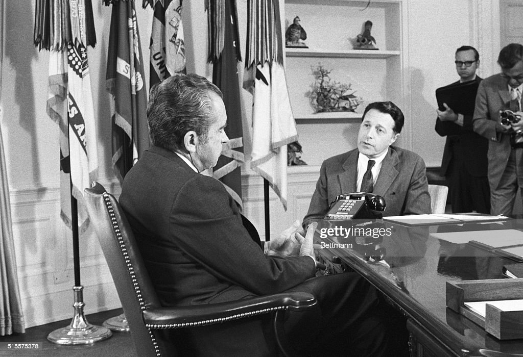 Secretary Caspar Weinberger, right, President Nixon told Weinberger ...