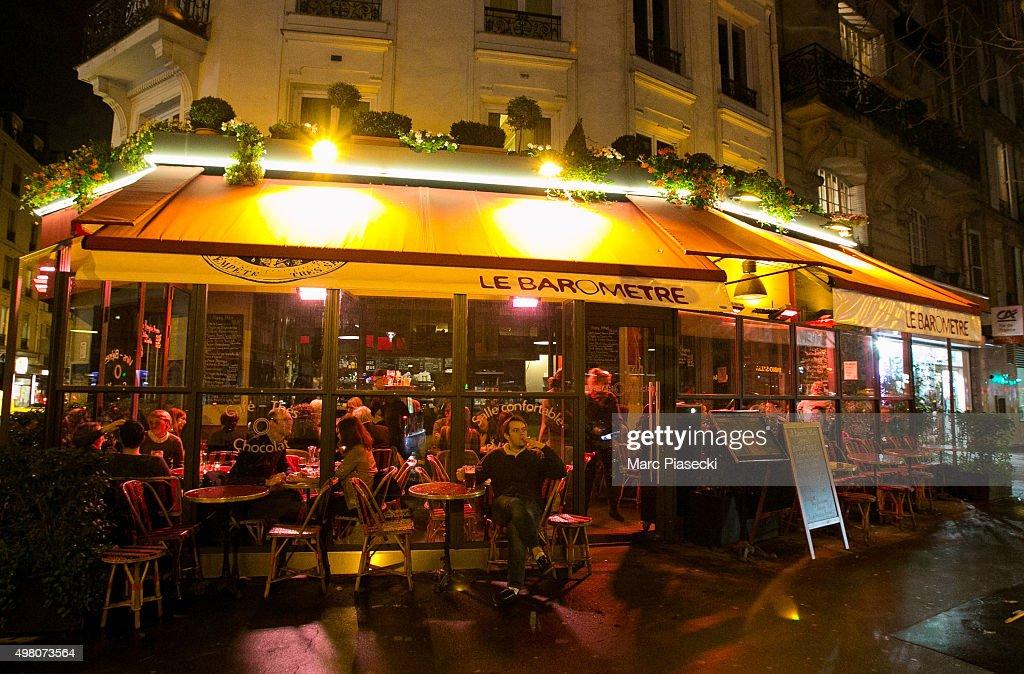 on November 20, 2015 in Paris, France. Following the terrorist attacks ...