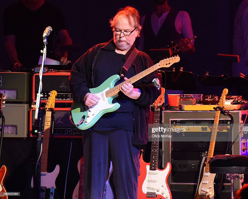Walter Becker of Steely Dan performs at Chastain Park Amphitheater on ...