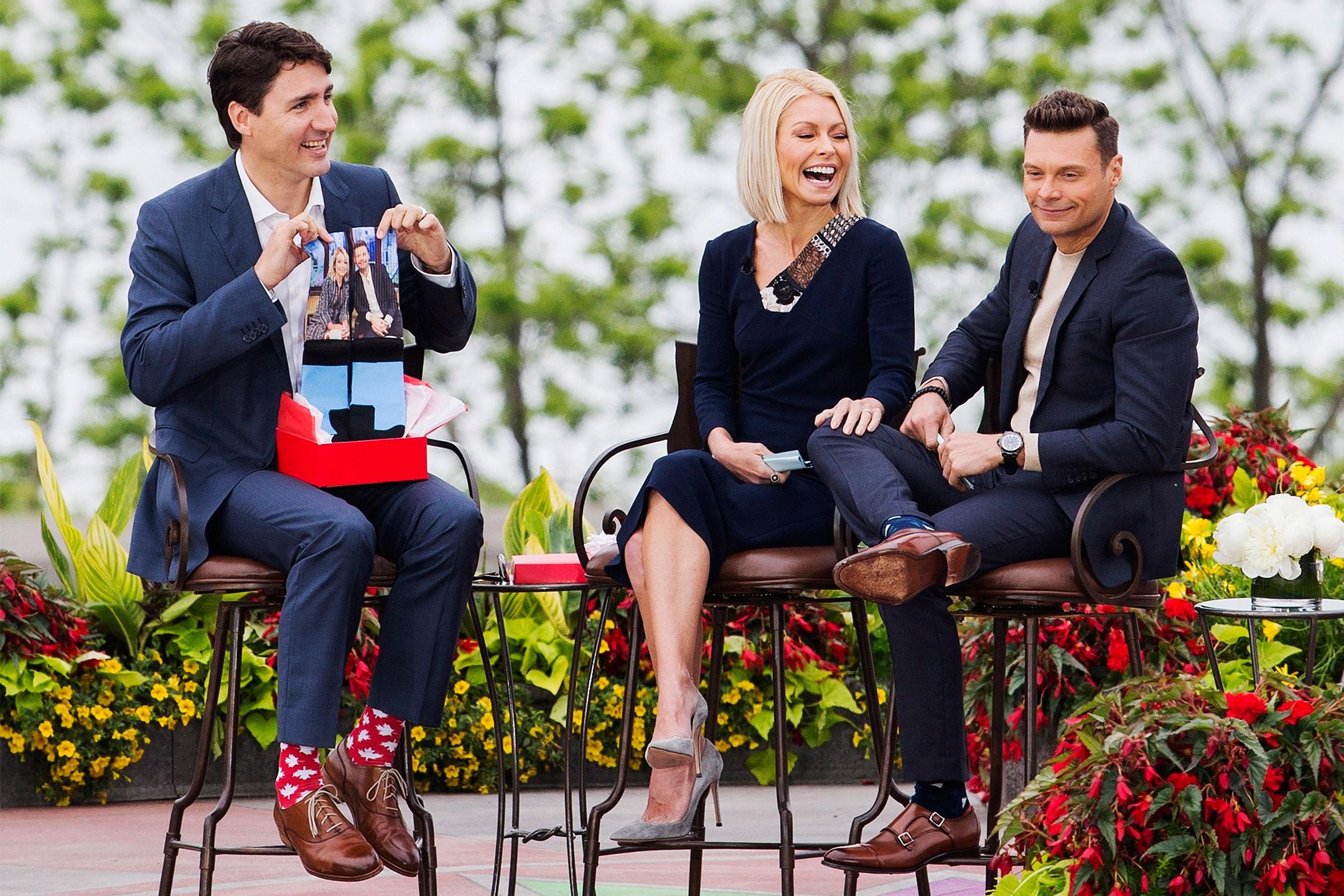 Justin Trudeau *Really* Loves Fun Socks Photos | GQ