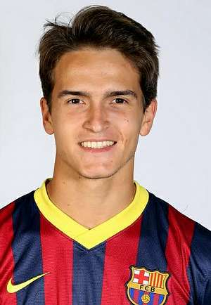 Il 24-anni, 176 cm alto Denis Suárez in 2018 photo