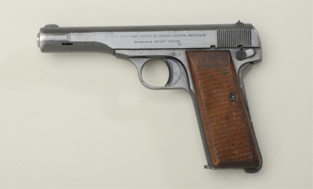 FN Browning Model 1922 semi-auto pistol, 7.65mm cal., 4-1 ...