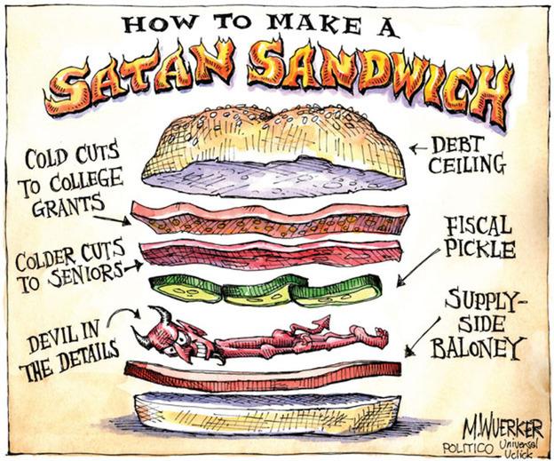 Accdak: Satan Sandwich Diagram