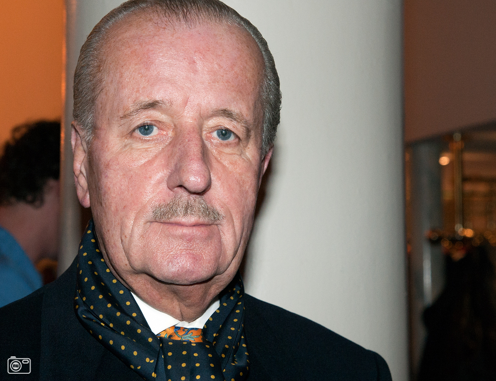 The 73-year old son of father (?) and mother(?), 174 cm tall Theo Hiddema in 2017 photo