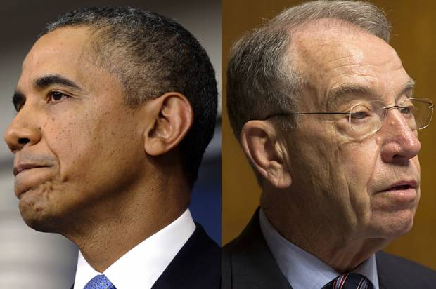 Charles Grassley Gives Obama a Warning That He Is Now a Part of the Russia Hoax Investigation…