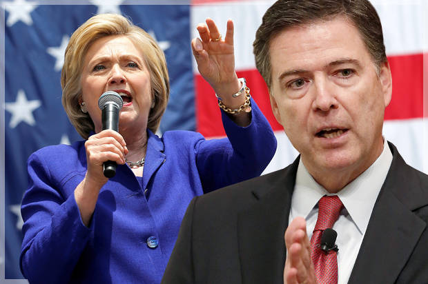 James Comey tells Congress review of additional Hillary Clinton ...
