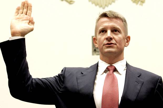 Erik Prince's dark plan for Afghanistan: Military ...